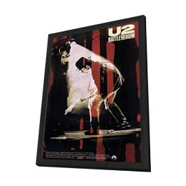 U2: Rattle and Hum - 27 x 40 Movie Poster - Style A - in Deluxe Wood Frame