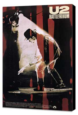 U2: Rattle and Hum - 27 x 40 Movie Poster - Style A - Museum Wrapped Canvas