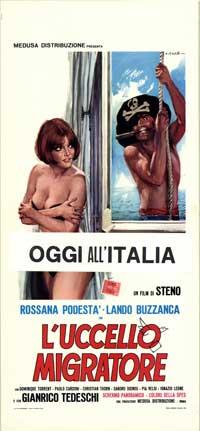 Uccello migratore, L' - 13 x 28 Movie Poster - Italian Style A