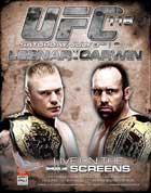 UFC 116: Lesnar vs. Carwin (TV) - 11 x 17 TV Poster - Style A