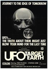 UFO Target Earth - 27 x 40 Movie Poster - Style A