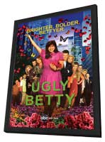 Ugly Betty - 27 x 40 TV Poster - Style B - in Deluxe Wood Frame