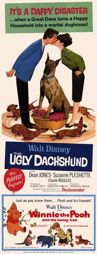 The Ugly Dachshund - 14 x 36 Movie Poster - Insert Style A