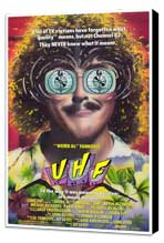 UHF - 27 x 40 Movie Poster - Style A - Museum Wrapped Canvas