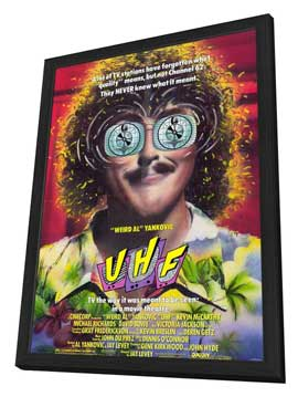 UHF - 11 x 17 Movie Poster - Style A - in Deluxe Wood Frame