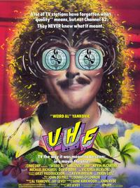 UHF - 11 x 17 Movie Poster - Style A - Museum Wrapped Canvas