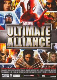 Ultimate Alliance - 11 x 17 Video Game Poster - Style A