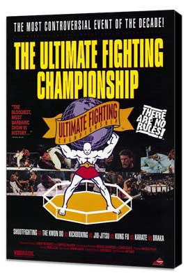 Ultimate Fighting Championships - 27 x 40 Movie Poster - Style A - Museum Wrapped Canvas