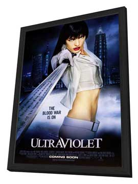 Ultraviolet - 27 x 40 Movie Poster - Style A - in Deluxe Wood Frame
