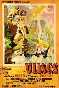 Ulysses - 11 x 17 Movie Poster - Spanish Style B
