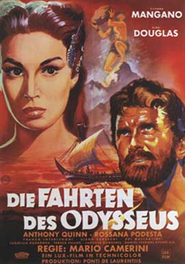 Ulysses - 11 x 17 Movie Poster - German Style A