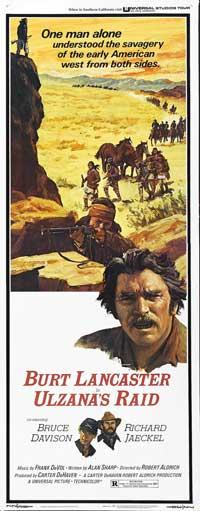 Ulzana's Raid - 14 x 36 Movie Poster - Insert Style A