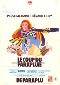Umbrella Coup - 11 x 17 Movie Poster - Belgian Style A