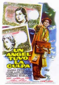 Un Angel Tuvo la Culpa - 11 x 17 Movie Poster - Spanish Style A