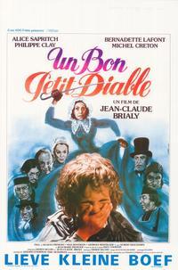 Un bon petit diable - 11 x 17 Movie Poster - Belgian Style A