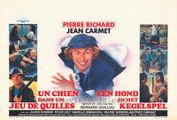 Un chien dans un jeu de quilles - 27 x 40 Movie Poster - Belgian Style A