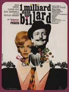 Un milliard dans un billard - 11 x 17 Movie Poster - French Style A