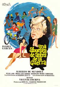 Una abuelita de Antes de la Guerra - 27 x 40 Movie Poster - Spanish Style A