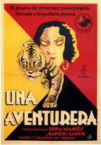 Una Aventurera - 11 x 17 Movie Poster - Spanish Style A