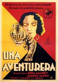 Una Aventurera - 27 x 40 Movie Poster - Spanish Style A