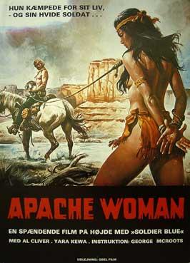 Una donna chiamata Apache - 11 x 17 Movie Poster - Danish Style A