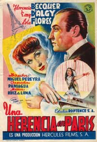 Una Herencia de Paris - 11 x 17 Movie Poster - Spanish Style A