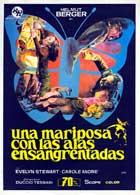 Una mariposa con las alas ensangrentadas - 11 x 17 Movie Poster - Spanish Style A