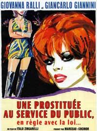 Una Prostituta al Servizio del Pubblico e in Regola con Le leggi Dello Stato - 11 x 17 Movie Poster - French Style A