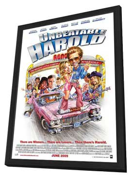 Unbeatable Harold - 11 x 17 Movie Poster - Style A - in Deluxe Wood Frame