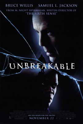 Unbreakable - 27 x 40 Movie Poster - Style A