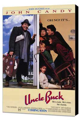 Uncle Buck - 27 x 40 Movie Poster - Style A - Museum Wrapped Canvas