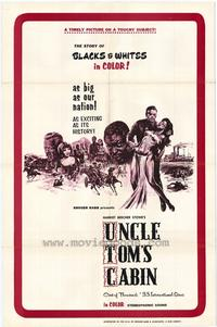 Uncle Toms Cabin - 11 x 17 Movie Poster - Style B