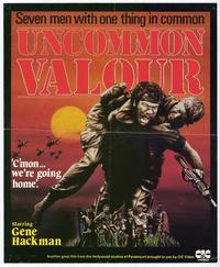 Uncommon Valor - 11 x 17 Movie Poster - Style A