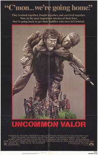 Uncommon Valor - 11 x 17 Movie Poster - Style B