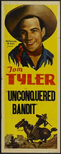 Unconquered Bandit - 14 x 36 Movie Poster - Insert Style A