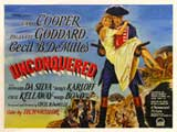 Unconquered - 30 x 40 Movie Poster UK - Style A