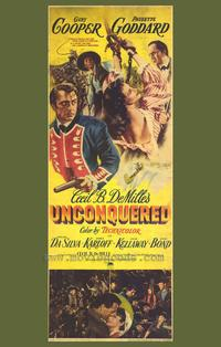 Unconquered - 27 x 40 Movie Poster - Style A