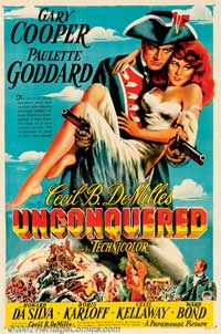 Unconquered - 11 x 17 Movie Poster - Style B