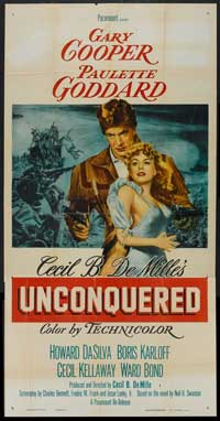 Unconquered - 20 x 40 Movie Poster - Style A