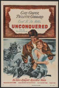 Unconquered - 27 x 40 Movie Poster - Style B