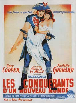 Unconquered - 11 x 17 Movie Poster - French Style A