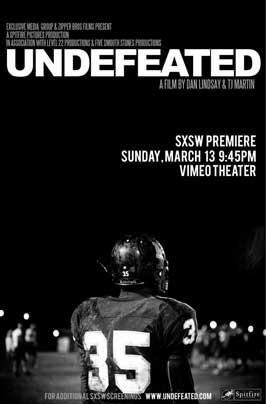Undefeated - 11 x 17 Movie Poster - Style A