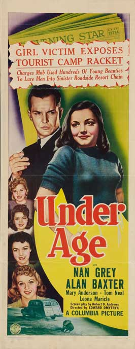 Under Age - 14 x 36 Movie Poster - Insert Style A
