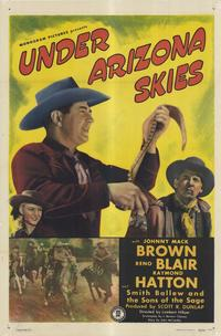 Under Arizona Skies - 11 x 17 Movie Poster - Style A