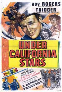 Under California Stars - 27 x 40 Movie Poster - Style A