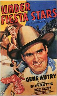 Under Fiesta Stars - 11 x 17 Movie Poster - Style A