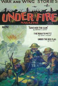 Under Fire Magazine (Pulp) - 11 x 17 Pulp Poster - Style A