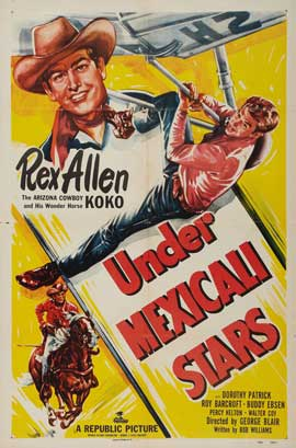 Under Mexicali Stars - 11 x 17 Movie Poster - Style A