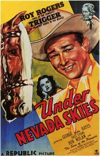 Under Nevada Skies - 43 x 62 Movie Poster - Bus Shelter Style A