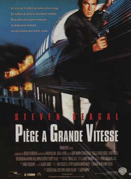 Under Siege 2: Dark Territory - 11 x 17 Movie Poster - French Style A
